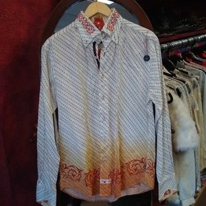 English laundry men's button down